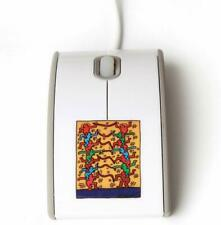 Keith Haring ART Optical Computer Mouse wired USB pointer Apple  Collectors Item