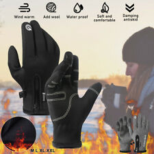Winter Thermal Ski Gloves Touchscreen Waterproof Snow Motorcycle For Women Men