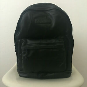 SUPREME Patchwork Leather Box Logo Backpack Travel School Work Laptop 23L NEW