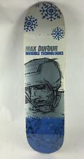 2001 Max Dufour Invisible Skateboard Deck Vintage Hockey Play