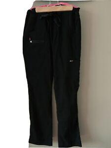 Koi Lite Peace Womens XX Small Black Scrub Pants
