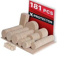 181 FELT PADS CHAIR LEG FLOOR PROTECTORS Hardwood Floors Furniture Pads Beige
