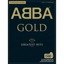 ABBA GOLD Greatest Hits Alto Sax Play-Along Book & Downloads