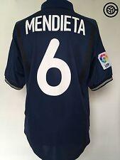 MENDIETA #6 Valencia Nike Away Football Shirt Jersey 2000/01 (L)