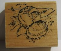 EMBOSSING ARTS SEA SHELL RUBBER STAMP