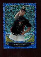 LUIS HEREDIA /250  MINT ROOKIE BLUE WAVE REFRACTOR  SP 2013 BOWMAN CHROME B6