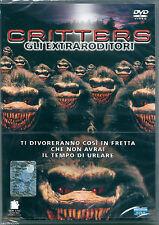 Critters. Gli extraroditori (1986) DVD NUOVO SIGILLATO Billy Green Bush S.Grimes