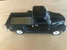 Welly 1953 Chevy Black 3100 Pickup Truck 1/24 Scale Diecast Hood & Doors Open