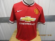 NIKE MANCHESTER UNITED/CHEVY #9 FALCAO SEWN RED/HOME DRI-FIT JERSEY 2012/13 KIT