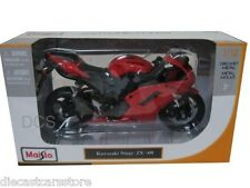 Maisto 1/12 Kawasaki Ninja ZX-6R Red Motorcycles New In Box 07118RD