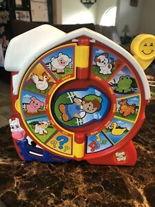Fisher-Price The Farmer Says SEE 'N SAY ~ 2 Ways to Play