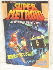 SUPER METROID Kouryaku Guide SFC Book T2