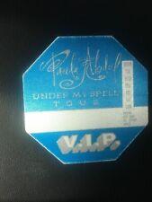 Paula Abdul - Under My Spell Tour - Vip Pass - Blue