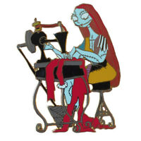 Disney Auctions Pin - Nightmare Before Christmas - Sally at Sewing Machine
