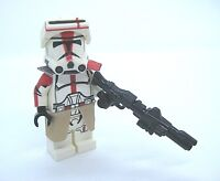 Lego COMMANDER DEVISS Clone Minifigure -Custom Full Body Printing!  CAC