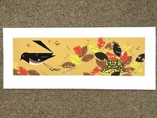 """Charley Harper Serigraph Signed Numbered """"Box Turtle"""""""