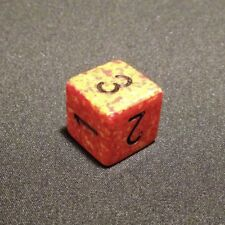 Chessex dice d6 SPECKLED FIRE 15mm red yellow orange die D&D RPG six sided new