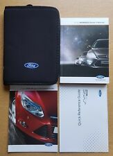 GENUINE FORD MONDEO 2007-2013 HANDBOOK OWNERS MANUAL WALLET REF D-90