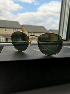 Ray-Ban Unisex's RB3447 Sunglasses - Gold 001