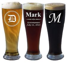Beer Alcohol Glass Grand Pilsner 15OZ Personalized Custom Father Mother Gift New