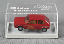 BREKINA (H0, 1:87) VW Golf Retro Classics 2004 30 Jahre VW-Golf #0001 NEUWARE!