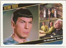 Case Topper Card 17a The Menagerie Part 2 - Captains*s Collection Star Trek TOS