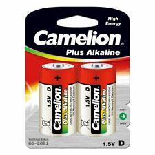 Battery Camelion Plus type D Alkaline 2 pack 1,5V  Alkaline