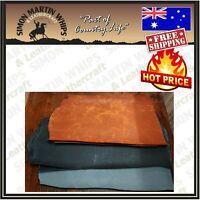 Genuine Veg Tan Leather Hides for Hand Bag Notebook Belt Making DIY Single Butts