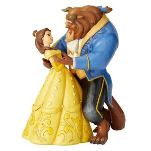 JIM SHORE DISNEY TRADITIONS BELLE AND BEAST MOONLIGHT WALTZ BEAUTY AND THE BEAST