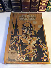 The Star Wars Trilogy - 3 books in 1 - leatherbound - Golden C3PO Cover - sealed