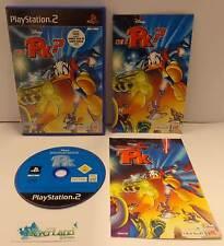 Gioco Game SONY Playstation 2 PS2 PAL ITA Disney Paperino Chi è PK? + Comic Book