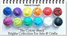 """The Colour Shack® Glamour Pearl Powder Set """"Brights Collection"""" ARTS & CRAFTS"""