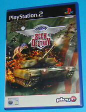 Seek and Destroy - Sony Playstation 2 PS2 - PAL