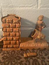 Rare Original 1892 Antique Cast Iron J & E Stevens Co Mechanical Artillery Bank