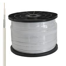 DIGITAL Mini Sat Koax Kabel 0,70 / 4,6 mm Vollkupfer 2-fach abgeschirmt, 200m