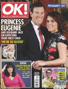 OK! Magazine OCT 2020: PRINCESS EUGENIE James Bond KATE MIDDLETON Coleen Nolan