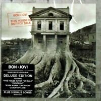 BON JOVI ~ This House Is Not For Sale Deluxe Ed  NEW SEALED CD + BONUS TRACKS
