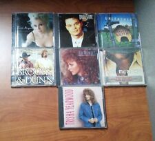 Country Music  (Lot of 7 CD)  Various Artists    LIKE  NEW   DB 2433
