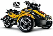 "Can Am Spyder RS RSS GS graphic wrap decal kit ""The Bee"""