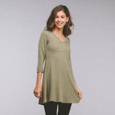 NWT's Olive Green 3/4 Sleeve Mini-Dress/Tunic Top-Size L