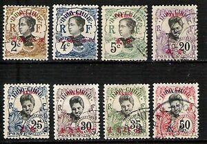 CHINA AGENCIES PAKHOI (French colonials) VF Postally used HCV