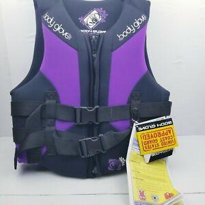 Body Glove Adult Ladies 12 USCG Type III Life Jacket Ski Vest Purple. Model 1690