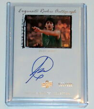 RICKY RUBIO 09-10 UD EXQUISITE ROOKIE AUTO #D /225 AUTOGRAPHED ON CARD RC 44 WOW