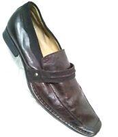 Stacy Adams•24561-200•Leather•EeL Skin•Square•Toe•Merlot•Men•Dress Shoes Sz•13M