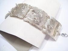 Bracciale semirigido in Argento 925 - braccialetto con moschettone -