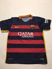 Qatar Airways Dri-fit Nike 2015 Jersey Size 26 , Beko , LFP, MESSI, 10, UNICEF