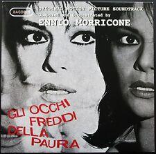 BO FILM GLI OCCHI FREDDI DELLA PAURA ENNIO MORRICONE 33T LP DAGORED 119 ITALY