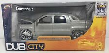DUB CITY 2002 CADILLAC ESCALADE EXT SILVER 1/24 SCALE DIE CAST! FREE SHIPPING