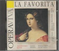 LA FAVORITA di Donizetti Opera Viva CD Audio Musicale