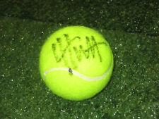 LLEYTON HEWITT HAND SIGNED TENNIS BALL UNFRAMED + PHOTO PROOF + C.O.A